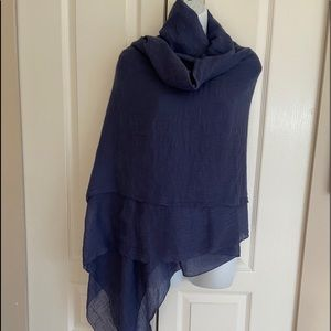 Extra large fine cotton wrap/scarf